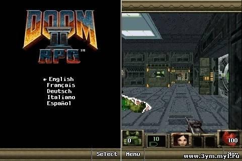 Java игрой Doom RPG 2 - 22 Января 2010 -